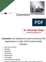 Chemistry in Cosmetics