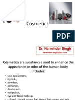 Chemistry in Cosmetics