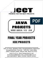 2012-11 Ieee Java Ieee Project Titles Yr 2012-11-10, Ncct Java Ieee Project List