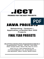 2013-14 Java Project Titles, (Non IEEE) Networking