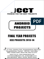 2013 IEEE Android Project Titles, NCCT - IEEE 2013 Android Project List