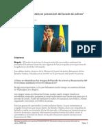 Colombia y la prevención del lavado de activos