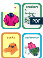 Flashcards - Clothes 3