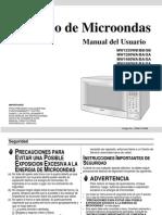 Horno de Microondas - Manual de Usuarioa - MW1660WA