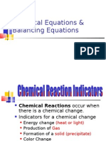 Balancing Equations Pre AP