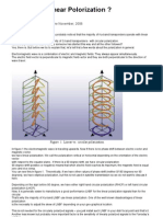 Circular or Linear Polorization