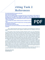 Writing Task 2 References
