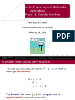 CM2202 Complex Numbers