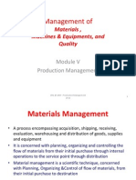 Materials Management & Maintenance Slides 109 to 145