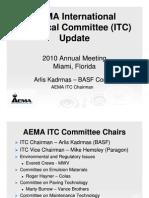 Arlis Kadrmas - AEMA ITC Update