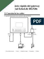 EchoLife HG520c Home Gateway Quick Start-Spanish