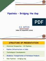 Pipelines Bridging the Gap SKS 11th Dec
