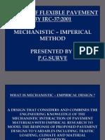 Mechanistic Design of Flexible Pavement - PDF