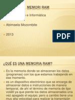 Memorias RAMSCRIBD.pptx