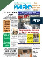 2009.05.21 - Manifestação pela duplicação chega a Brasília - Jornal Opinião