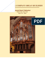 Project Profile - The Paul Fritts Pipe Organ in Sacred Heart Cathedral