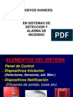 ALARMAS DE DETECCIÓN DE INCENDIOS