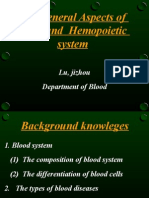 General Aspects of hematopoetic system