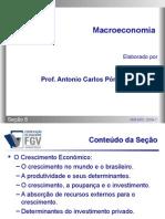 Macroeconomia - Secao 08 - O Crescimento Econômico