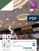 Luminarias y Lamparas LED 2013 Philips
