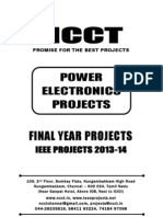2013 IEEE Power Electronics Project Titles, NCCT - IEEE 2013 Power Electronics IEEE Project List