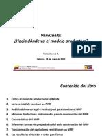 Víctor Alvarez. Presentación libro Venezuela. Hacia dónde va
