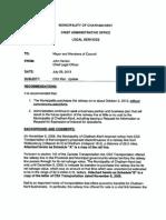 CK CSX Report