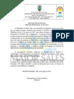 REAVISO DE LICITAÇÃO 27-2013