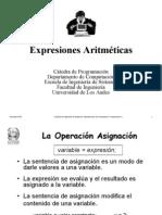 Expresion Aritmetica