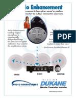 Dukane Audio Enhancement System