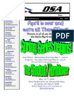 2009 05 May Newsletter