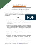 Bases Proyectos Estudiantiles 2013