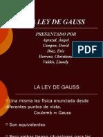 La Ley de Gauss Grupo 1