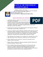 Nuevo Manual de Industrias Alimentarias