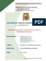 TEORÍA GENERAL DE SISTEMAS1
