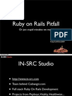 Ruby on Rails Pitfall