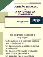 Cognição Espacial e Natureza da Linguagem