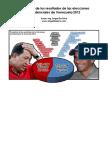 Pronostico Elecciones Venezuela 2012
