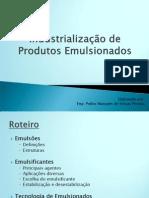 Industrialização de Produtos Emulsionados