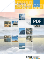 Renewables Global Status Report 2009 Update