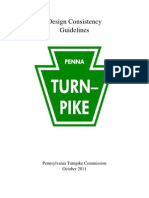 pa turnpike design consistancy manual 2011