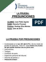 La Prueba - Presunciones