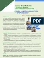 Brochure Diplomado Logistica