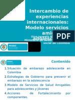 Intercambio de Experiencias Internacionales Modelo de SSAAJ
