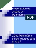 2. Juegos Matematico