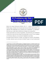 Aguilar-El Problema Del Mal