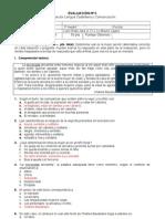 1 Medio - 2. Evaluacion Discurso Dialogico