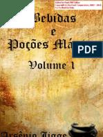 Bebida e Poções Magicas-Volume 1