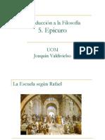 Valdivieso Epicuro