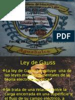 Ley de Gauss Grupo 5
